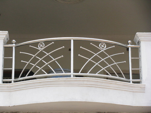 similar design steel grill design for balcony